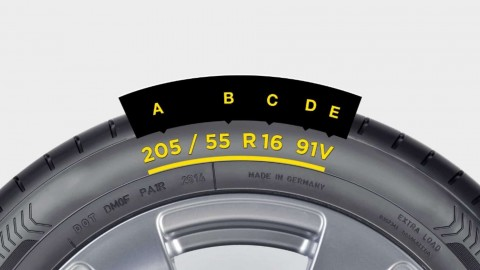 HOW TO READ YOUR TYRE'S SIDEWALL MARKINGS